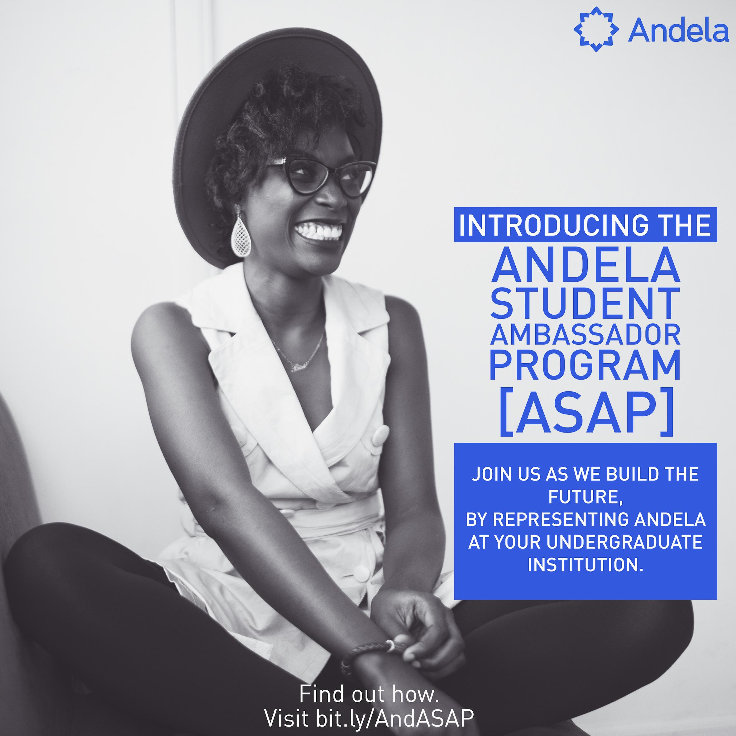 Andela Student Ambassador Program